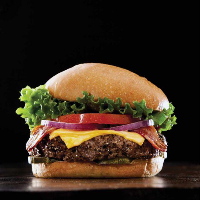 Bacon cheeseburger eten bezorgen heerenveen